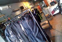 FK Upcycled@ RC Motogarage / interior desain untuk toko apparel