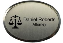 Law Office Name Badges