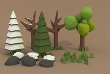 Low Poly Prop Ideas