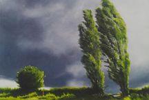 Jane Domingos paintings at Tarpey Gallery / Artwork by Jane Domingos