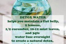 Detox waters
