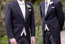 PEPPERS FORMAL WEAR morning suits / Classic morning suits are a timeless option. Perfect for any daytime wedding, especially those in gardens, homesteads and vineyards.