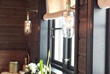 Hytte - lamper