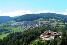 Jenesien - San Genesio / Jenesien liegt oberhalb von Bozen auf dem Tschöggelberg