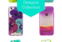 Incipio Designer Case Collection | Laura Trevey / Styled in artist Laura Trevey's signature watercolor designs, the case's sleek, transparent exterior shows off your iPhone while keeping it protected. / by Laura Trevey