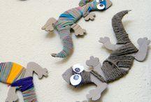 tvoření s dětmi - papír