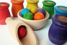 Montessori Sensorial / by Teresa Schumacher
