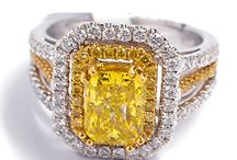 Yellow Irradiated Diamonds AIG Appraisals / These items have been appraised in the Lab for clients of American International Gemologists.