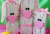 Easter decor!! / by Justine Doan