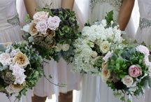 Wedding Flowers / Bouquets and boutonnieres. For centerpieces, go to my Wedding Decor board! / by Rebecca Hale