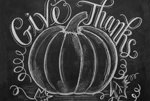 Chalkboard themes