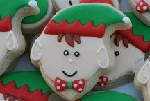 Icing Ideas: Christmas: Elves