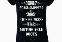 I am a biker chick!