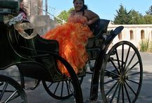 Quinceaneras / Every quince is a princessa in a horse drawn carriage!