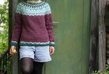 Áfmæli sweater i lettlopi