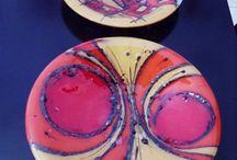 painted crockery
