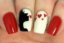 st Valentine's day nail
