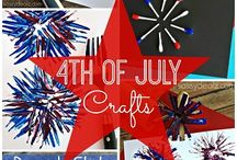 4th of July! / 4th of July inspired crafts.
