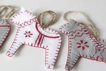 christmas scandinavian sew