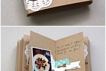 handmade book with pictures