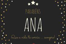 Parabéns com nomes//Ana