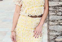 Vestiti donna - Women Dress Crochet