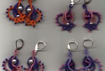 gioielli al chiacchierino di Iris Niebach / gioielli fatti al chiacchierino