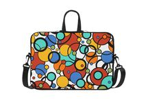 Laptop Print Cases Macbook Cases / Colorful Designer Print Laptop Briefcases and bags by www.Juleez.com
