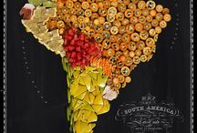 Fruit and Veg of SA / Fruit and vegetables you may encounter in markets on your travels to South America