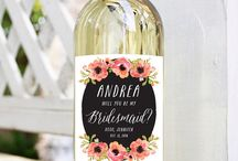 "Bridal Party ""Ask"" Ideas"