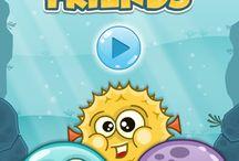 Aqua Friends / Aqua Friends - puzzle html5 game