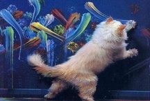 Chats mystérieux / Pouvoirs transchroniques, ronronnement mystérieux... Durant l'antiquité déjà, les égyptiens vénéraient le chat en tant qu'incarnation de « Bastet », déesse bienveillante.