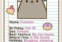 PUSHEEN!!!!!  UBER CUTEEEE