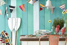 Seaside Sewing Inspo / Ideas for some coastal and marine inspired sewing to spruce up your beach hut or your seaside picnic!