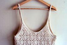 crochet swimwear & tops