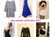 Fashion and Cookies Giveaway / by Ria Alemina Ginting