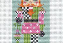 Kelly Clark Needlepoint @ Bedecked and Beadazzled
