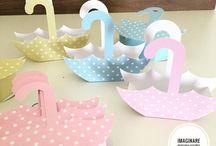cajas y patrones  para mesas de dulces