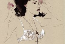 Illustration / by Marie-Love Petit