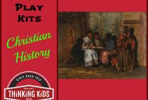 Read & Play Kits / Great Christian books for kids with coordinating hands-on resources!