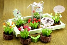 Wedding Favors / Different ideas for creating or buying favors for your big day!