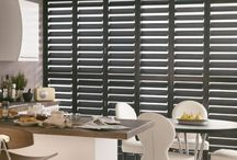 Coloured Shutters / Plantation shutters in different paint shades