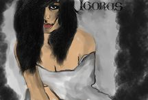 Portrety, grafiki / Moja twórczość