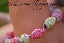 paper jewelry / diy jewelries from paper