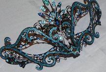 WendyBelle's Corner-Masquerade Masks / My new infatuation! / by Wendy Adams