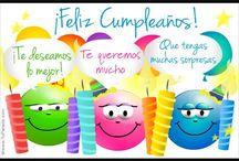 HAPPY BIRTHDAY , FELÍZ CUMPLE , AUGURI ! !!