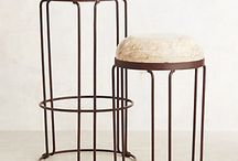 Bar-Counter Stools / by Cindy Hattersley Design/Rough Luxe Lifestyle Blog