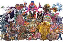 Alan Aldridge- FeeFiFoFun's Illustrator! / Some of Alan's artwork for the Beatles, when FeeFiFoFun was a mere twinkle in it's founders' eyes!