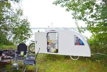Bike campers / Campers for your bike. The Vacation experience