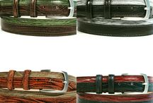 Man leather belts